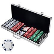 500 Dice Style 11.5 Gram Poker Chip Set