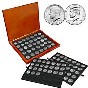 50th Anniversary P and D Kennedy Half Dollars 1964-2014