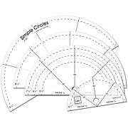6 Simple Circles Rotary Cutting Rulers