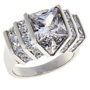 Absolute™ Cubic Zirconia Quadrillion-Cut Engagement Ring