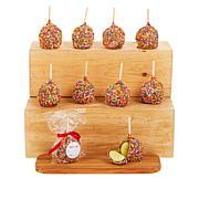 Affy Tapple 10-piece Peanut and Rainbow Sprinkle Apple Assortment
