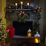 American Tree & Wreath 9' Pinecone Berry Garland