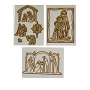 Anna Griffin® 10-piece Nativity Cut & Emboss Die Set