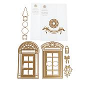 Anna Griffin® Classic Christmas Door Decoration Embossing Folders/Dies