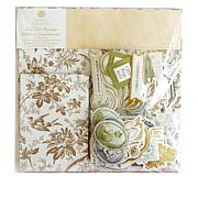 Anna Griffin® Fall Toile Cardstock and Embellishments Set