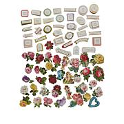 Anna Griffin® Mini 3D Flower and Valentine Sticker Library 240-pack