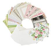 "Anna Griffin® Perfect Pattern 6"" x 6"" Card Set - 50-pack"