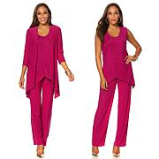 """Antthony """"Fashion and Desire"""" 3-piece Ruffle Set"""