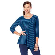 """Antthony """"Striped for Success"""" Striped Tunic"""