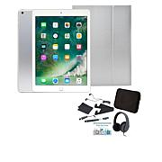 "Apple iPad® 9.7"" Tablet with Keyboard Case and Headphones"