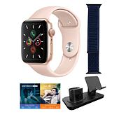 Apple Watch Series 5 with GPS and 3-in-1 Stand