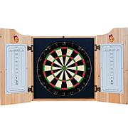 Arizona State Univ Dart Cabinet with Darts and Board