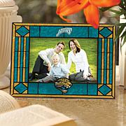 Art Glass Picture Frame - Jacksonville Jaguars