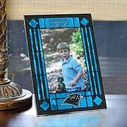 Art Glass Team Photo Frame - Carolina Panthers - NFL
