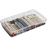 ArtBin Prism 6-Compartment Box - Transparent