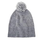 """""""As Is"""" Skinngirl Marled Knit Pompom Hat"""
