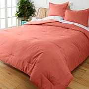 """As Is"" South Street Loft 3-piece Tonal Color Comforter Set"
