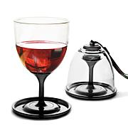 asobu® Set of 2 Stackable Vino Cups w/Carrying Strap