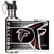 Atlanta Falcons Stainless Steel Water Bottle with Metallic Graphics