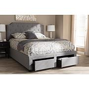Aubrianne Fabric Upholstered Storage Bed