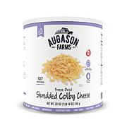 Augason Farms Freeze-Dried Shredded Colby Cheese Gluten Free
