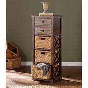Bardwell 3-Basket Storage Shelf