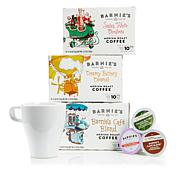 Barnie's Coffee Single Serve Cups 30-count Assortment