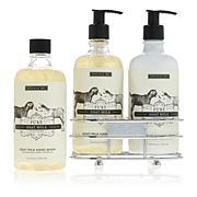 Beekman 1802 Goat Milk Hand Wash & Lotion Caddy Set