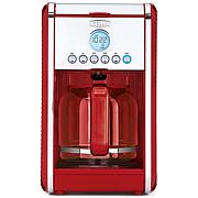 Bella Linea Programmable 12-Cup Coffee Maker - Red