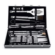 BergHOFF Essentials Cubo 33-piece 18/10 Stainless Steel BBQ Set/Case