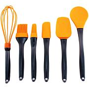 BergHOFF® Geminis 6-Piece Silicone Utensil Set - Orange