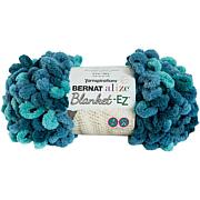 Bernat Alize Blanket-EZ Yarn - Seaport Teals