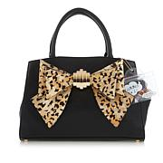 Betsey Johnson Convertible Bow Satchel