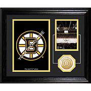 Boston Bruins Framed Desktop Photo by The Highland Mint