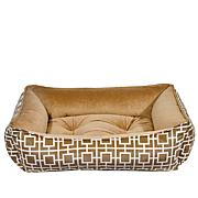 Bowsers Luxurious Designer Scoop Pet Bed - Large