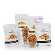Brandini Cashew Almond and Toffee Popcorn 6 oz. 4-pack Bundle