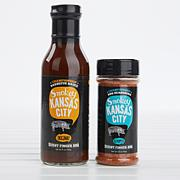 Burnt Finger BBQ Smokey Kansas City Sauce & Seasoning 2-pack