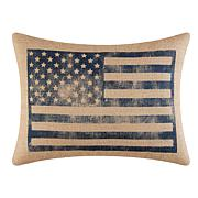 C&F Home American Flag Pillow