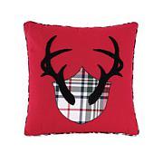 C&F Home Antler Mount Pillow