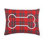 C&F Home Arlington Plaid Bone Pillow