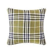 C&F Home Max Plaid Tarragon Pillow