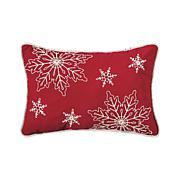 C&F Home Snowy Holiday Pillow