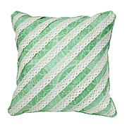 Carleton Varney  Hillandale Lace 100% Cotton Decorative Pillow