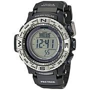 Casio Men's Pro Trek Atomic-Solar Triple Sensor Watch