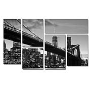 CATeyes 'Brooklyn Bridge 5' Multi-Panel Art Collection