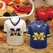 Ceramic Salt and Pepper Shakers - Michigan