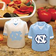 Ceramic Salt and Pepper Shakers - North Carolina