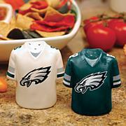 Ceramic Salt and Pepper Shakers - Philadelphia Eagles
