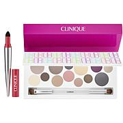 Clinique Party Eyes Palette and Pop Lip Shadow Set