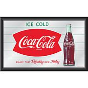 "Coca-Cola ""Refreshing New Feeling"" Horizontal Mirror"